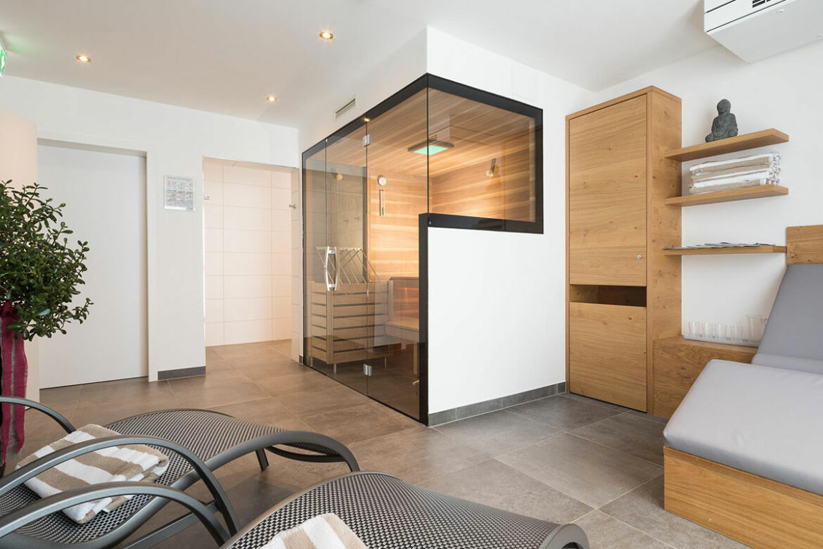 Private Sauna - Sunshine Appartements Schilchegger