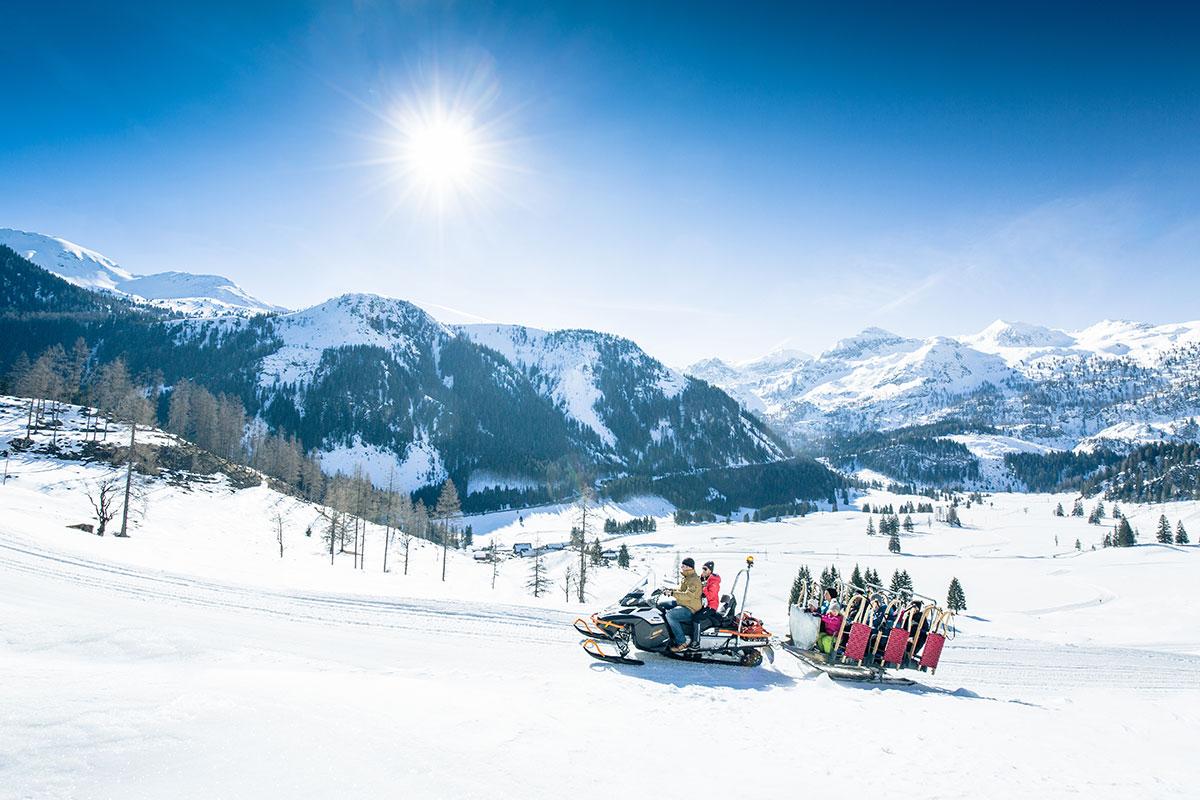 Rodeln - Winterurlaub in Obertauern
