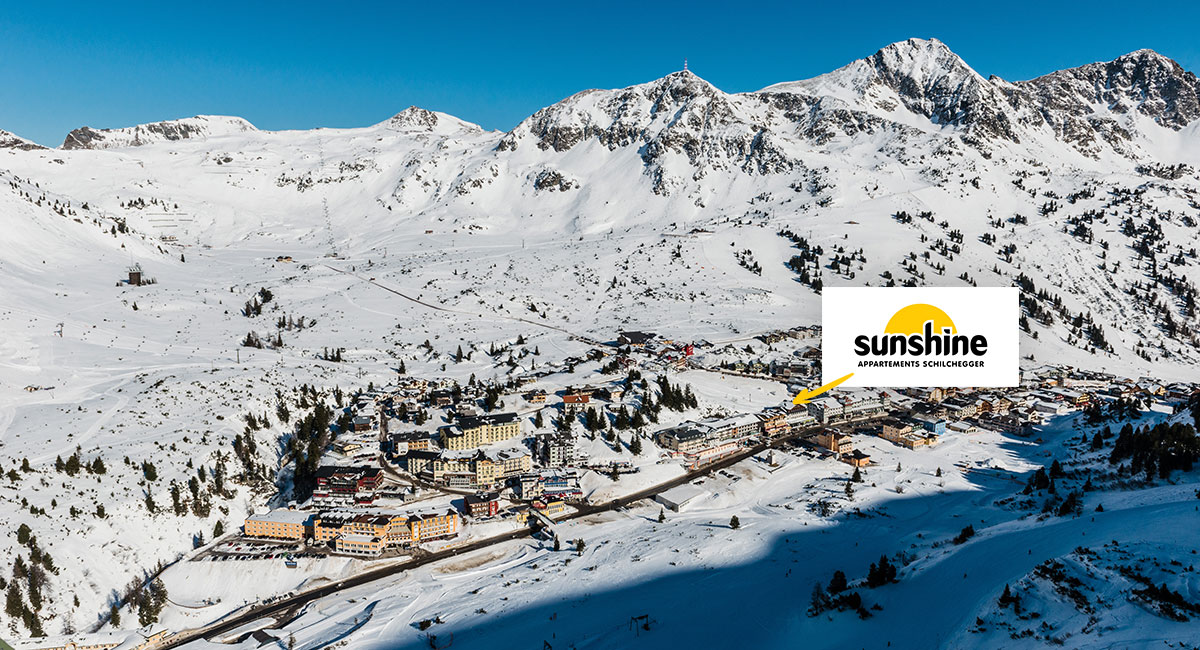 Toplage im Skiurlaub, Ferienwohnungen an der Piste, Obertauern